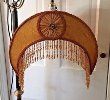 Vintage Style Victorian Floor Bridge Lamp Uno Fitter Lamp Shade