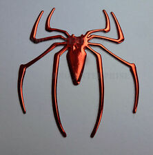 Self Adesivo Effetto Cromato Rosso Spider Badge decalcomanie per FORD FIESTA FOCUS MONDEO