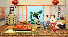 NEW Sylvanian families C-38 Washitsu Set Japanese Room Epoch EMS from Japan