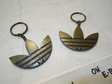 LOT OF 2 Adidas RUN DMC GOLD SHOE KEY CHAIN jewelry 35TH Consortium SUPERSTAR JS