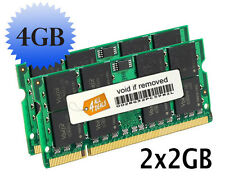 4GB (2x2GB) Memory RAM Compatible with Dell Inspiron 9400 Notebook DDR2