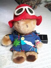 VINTAGE PADDINGTON BEAR.  Dressed for the Beach. From the 80's.