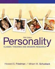 Personality: Classic Theories and Modern Research 5th Edition