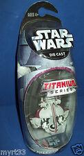 STAR WARS TITANIUM DIE CAST 2005 NIB micro machines  ~ SWAMP SPEEDER