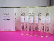 6  x  COCO  MADEMOISELLE   Eau de Parfum  SAMPLE  SPRAY By Chanel