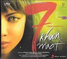 7 KHOON MAAF - NUOVO COLONNA SONORA CD