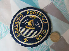 Boksburg Sud Africa / Africa TEAM FOOTBALL Blazer BADGE