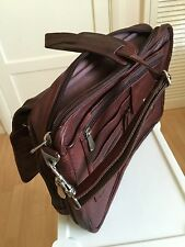 Luxury Italian Leather Business Laptop Hand Bag