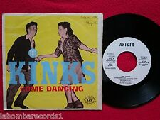 "THE KINKS Come Dancing 7"" SINGLE1983 ARISTA Spain WHITE LABEL PROMO (VG+/VG++) 3"