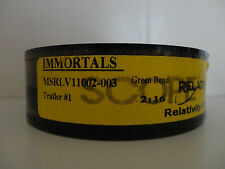 IMMORTALS (2011)  35mm Trailer  #1 movie collectible cells  Scope 2min 16sec