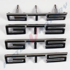 GTS Guards Boot Grille BADGES x4 BLACK ,NEW for HOLDEN HT HG MONARO fender grill
