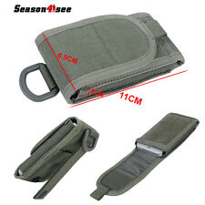Utility Tactical Molle Cell Phone Bag Pouch Case Cover For iPhone 5S 5c 4S Grey