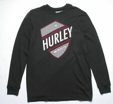 Hurley Long Sleeve Thermal Tee (L) Black