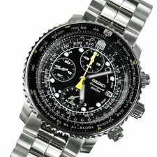 Seiko Flightmaster Chronograph 200m Watch SNA411 SNA411P1 SNA411P