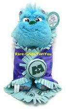 "Disney Parks Monsters Inc./University Baby Sulley & Blanket Plush Doll 10"" (NEW)"