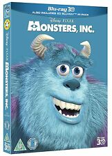MONSTERS, INC. [Blu-ray 3D + Blu-ray Disc] Classic Disney Pixar Movie Slipcover