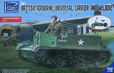 RIICH MODELS® RV35034 British Airborne Universal Carrier & Welbike in 1:35