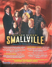 Smallville Season 2 Trading Card Binder with Sell Sheet