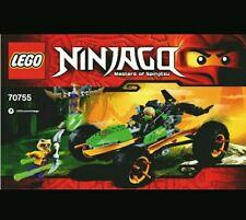LEGO NINJAGO RAIDER DELLA GIUNGLA - 70755 NUOVO!!!