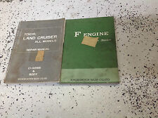 1972 1973 1974 Toyota Land Cruiser Service Shop Repair Manual set W F Engine BK