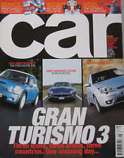 CAR 05/2002 featuring Mini Cooper S, Ford ST170, Maserati, Chrysler Crossfire
