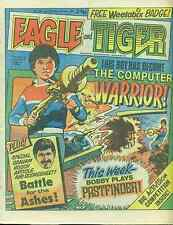 EAGLE & TIGER #168 British comic book June 8, 1985 Dan Dare (no badge) VG+