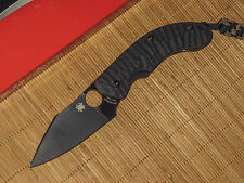 Spyderco C135GBBKP Perrin PPT black blade sprint run knife - NEW IN BOX