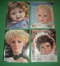 Doll Crafter Magazines 1990-1993 Lot of 4   #DC01