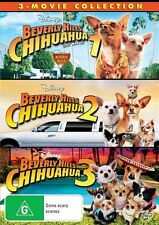 Beverly Hills Chihuahua 1,2,3 (3 Movie Collection)  DVD R4 NEW