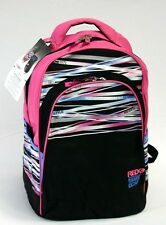 Brand New Ecko Classic Backpack Black / Pink / White ECKR301-009 Back To School