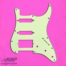 PICKGUARD STRATOCASTER SSH 3ply 11H MINT GREEN .090""