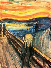EDVARD MUNCH THE SCREAM OLD ART PAINTING POSTER 806OMLV