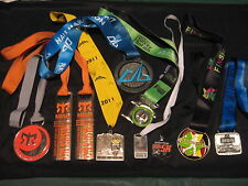 Mixed Utah Marathon/Half-Marathon/5K Medal Awards Lot of 10