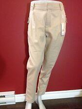 INWEAR Women's Beige Pleated Front Zipper Pocket Pants - Size 10 - NWT $129