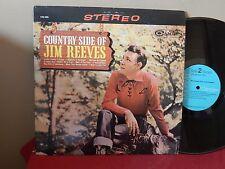 """JIM REEVES: COUNTRY SIDE OF JIM REEVES     12""""      33 RPM     LP"""
