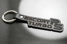 Escort RS TURBO Leather Keyring Keychain Schlüsselring Porte-clés RST S1 S2 FORD