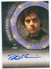 """PATRICK CURRIE """"FIFTH AUTOGRAPH #A77"""" STARGATE HEROES SG-1"""