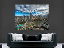 SAN DIEGO POSTER CITYSCAPE USA   ART WALL LARGE IMAGE GIANT