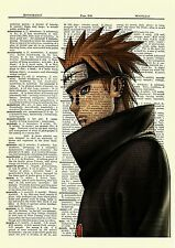 Pain Ninja Anime Dictionary Art Print Poster Picture Japan Book Manga Naruto