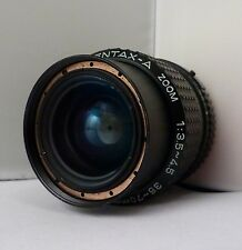 SMC Pentax-A Zoom f3.5-4.5 35-70mm Lens - Adaptable to Sony NEX, M43 etc