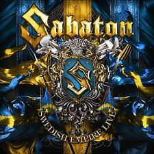 SABATON - SWEDISH EMPIRE LIVE  CD NEU