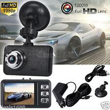 "2.4"" Full HD Lens LCD 1080P Car DVR Camera Video Recorder Vehicle Rear Dash Cam"