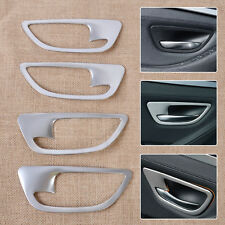 Chrome Interior Door Handle Bowl Frame cover molding trim for BMW 5 F10 F18