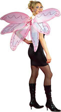 Adult Pink Pixie Fairy Butterfly Wings Halloween Costume Accessory