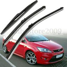 26'' + 17'' + 14'' WINDOW Windscreen Wiper Blades Set Kit For Ford Focus MK2 1.6