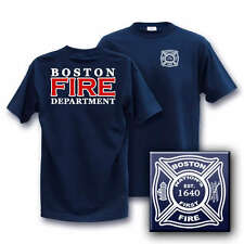 BOSTON FIRE DEPT MEDIUM firefighter T-Shirt  other sizes in our store