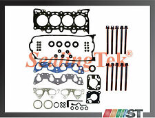Honda D15Z1 D16Z6 VTEC Cylinder Head Gasket Set w/ Bolts Kit SOHC engine motor