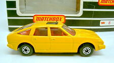 Matchbox SF Nr. 8D Rover 3500 GELB extrem selten top in Box