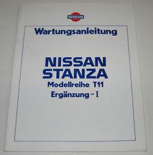 Werkstatthandbuch Nissan Stanza T11 / T 11 Kupplung Bremse  Stand Dezember 1983!