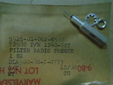 2 EA NOS ERIE RADIO FREQUENCY INTERFERENCE FILTER W/ VARIOUS APPS  P/N: 1240-027
